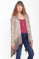 Goddis Daria Jacquard Sweater In Smokey Taupe