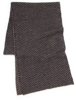 Portolano Printed Wool-Blend Scarf