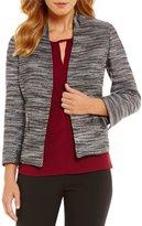 Kasper Metallic Tweed Jacket