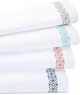 Trina Turk Trellis Block Embroidered Full Sheet Set
