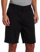 Nautica Men's Cotton Twill Flat Front Short