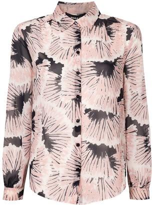 Paule Ka floral print Georgette blouse
