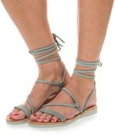 Satorisan Dalia Strappy Lace Sandals - Leather (For Women)