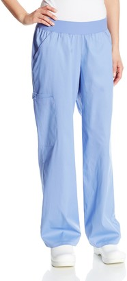 Cherokee Women's Tall Scrubs Flexibles Mid Rise Rayon Stretch Pull-On Pant