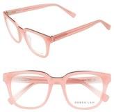 Derek Lam Women's 50Mm Optical Glasses - Black Brown