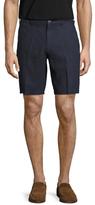 Saks Fifth Avenue Fixed Waist Linen Shorts