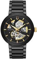Bulova Men's Modern Automatic Black Stainless Steel Watch