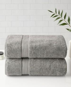 Madison Home USA Signature Cotton Bath Sheet 2-Pc. Set Bedding