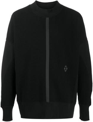 A-Cold-Wall* Crewneck Panelled Sweatshirt