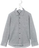 Il Gufo micro check shirt
