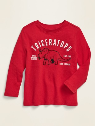 Old Navy Unisex Graphic Long-Sleeve Tee for Toddler
