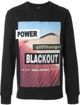 Blood Brother patch detail sweatshirt - men - Cotton - S