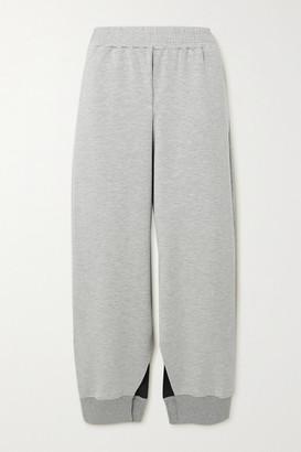 MM6 MAISON MARGIELA Melange Jersey Track Pants - Gray