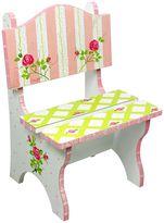 Teamson Kids Floral Crackled Chair