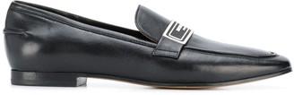 Emporio Armani Logo Plaque Loafers