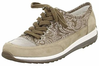 ara Women's Hermione Fashion Sneaker Taupe Combo 7.5 M US