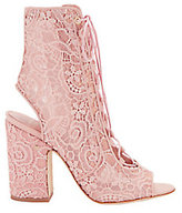 Laurence Dacade Nelly Pink Lace Booties