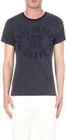 Diesel T-diego-gc cotton-jersey t-shirt