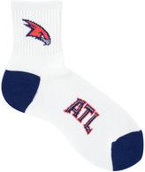 For Bare Feet Atlanta Hawks Ankle White 501 Socks