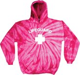 Buy Cool Shirts Lifeguard Tie Dye Hoodie