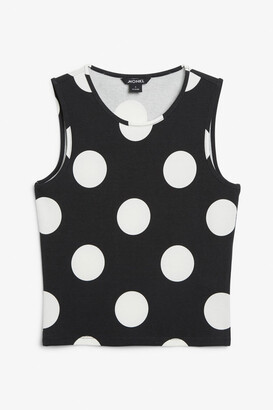 Monki Fitted tank top