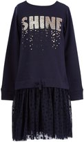 Jessica Simpson Big Girls 7-16 Shine Long-Sleeve Sweater Dress