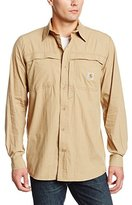 Carhartt Men's Force Mandan Solid Long Sleeve Shirt Relaxed Fit