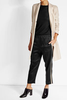 Brunello Cucinelli Satin Track Pants
