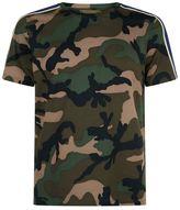 Valentino Camouflage Stripe T-shirt