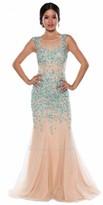 Atria Embellished Mermaid Prom Dress