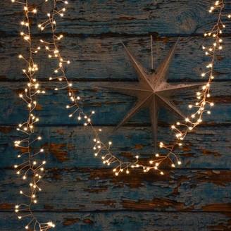 Latitude Run Tirante 10' Outdoor 300 - Bulb Fairy String Light Cord Color: Copper