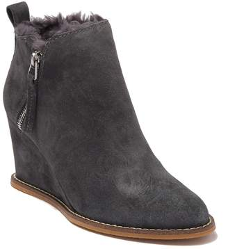 Dolce Vita Gill Faux Fur Lined Wedge Bootie