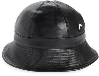 Marine Serre Upcycled Leather Bucket Hat