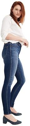 Madewell Tall 10 High-Rise Skinny in Danny Wash Tencel(r) Denim (Danny) Women's Shorts