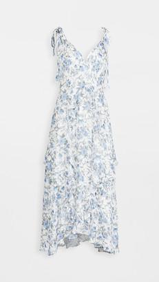 Rebecca Taylor Sleeveless Esmee Ruffle Dress