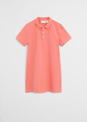 MANGO Organic cotton shift dress