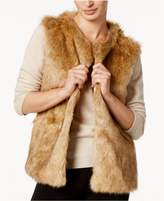 INC International Concepts Knit and Faux Fur Vest, Created for Macy's