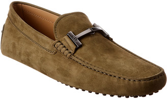Tod's Tods City Gommino Suede Loafer