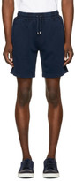 Burberry Navy Hestford Shorts