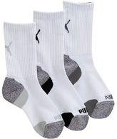 Puma Boys' Crew Socks (3 Pack)