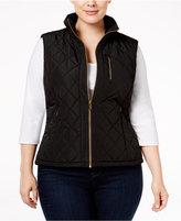 Calvin Klein Plus Size Lightweight Quilted Vest