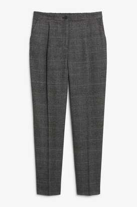 Monki Tailored tapered trousers