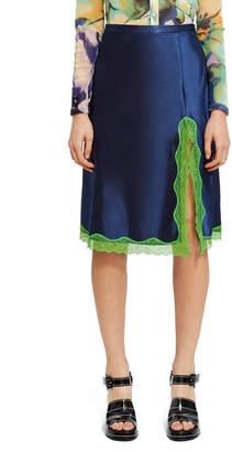 Callipygian Neon Lace Skirt