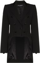 Dolce & Gabbana button embellished tailcoat blazer