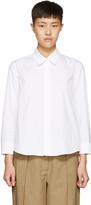 Jil Sander White Valentina Shirt