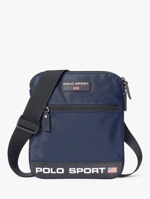 Ralph Lauren Polo Polo Sport Crossbody Bag, Navy