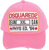 DSQUARED2 Patch Canvas Baseball Hat