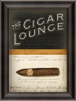 The Well Appointed House The Cigar Lounge Wall Art