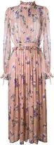 MSGM floral-print dress - women - Silk/Polyester - 42
