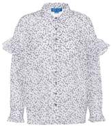 MiH Jeans Printed cotton blouse